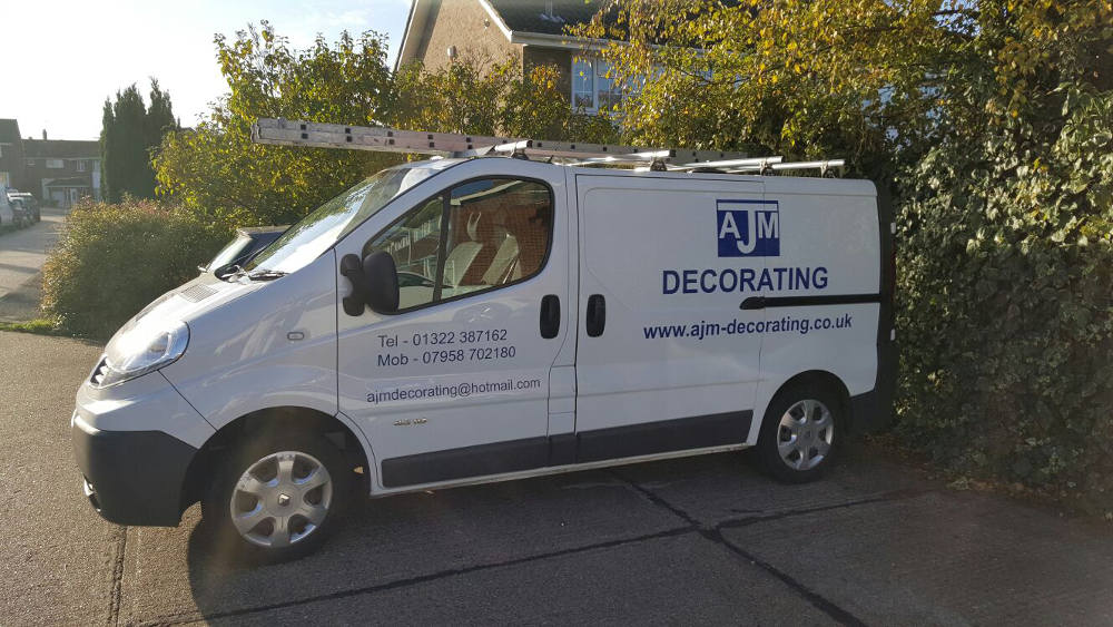 Painter and Decorator Kent AJM Decorating